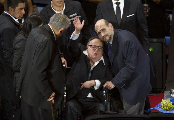 En vida Roberto Gómez Bolaños Chespirito recibió numerosos homenajes. (AP)