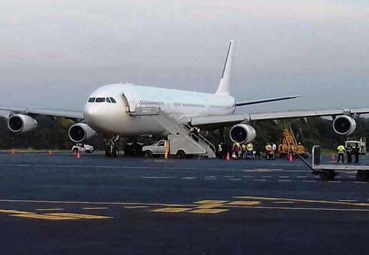 Los vuelos nacionales e internacionales representan más de cinco mil pasajeros y derrama económica superior a los 3mdd. (Irving Canul/SIPSE)