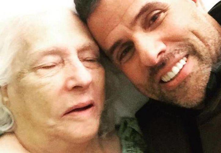 La madre del conductor Marco Antonio Regil falleció en las primeras horas de este miércoles 15 de febrero.(Foto tomada de Facebook/Marco Antonio Regil)