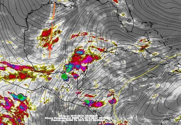 Inicio de mes, semana y temporada de huracanes con altas probabilidades de lluvia en la Península de Yucatán. (Conagua)