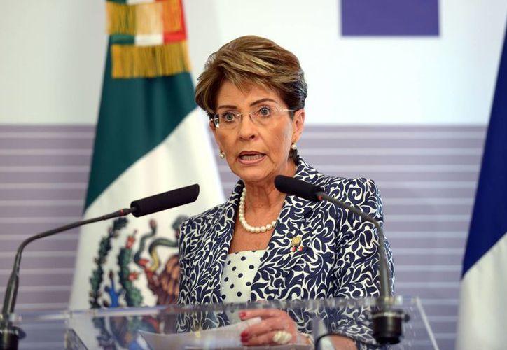 Mercedes Juan López, secretaria de Salud, reconoció que el programa 'El médico en tu casa' es muy innovador. (Notimex)