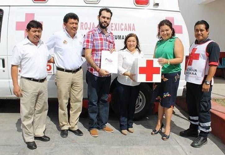 La Cruz Roja como tal subsiste y se mantiene de donaciones que recibe de la sociedad, es por eso que invitan a la ciudadanía a unirse a la causa. (Redacción/SIPSE)