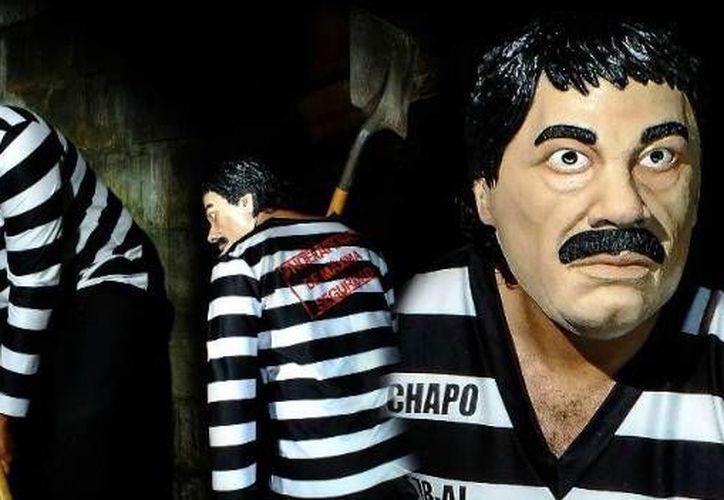 Grupo Rev fue el creador del disfraz de 'El Chapo', el cual ha tenido gran éxito en México y EU. (Grupo Rev)