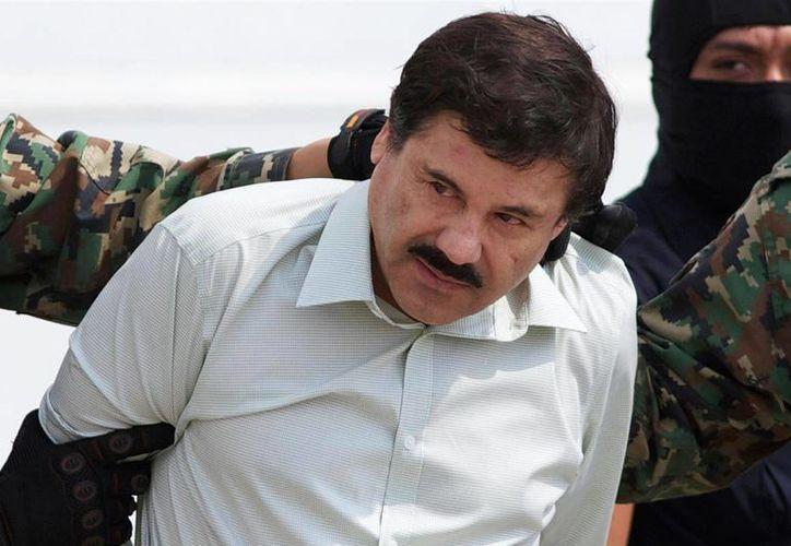 Joaquín 'El Chapo' Guzmán Loera arribó alrededor de la medianoche en un jet mediano al aeropuerto Abraham González. (Archivo/Agencias)