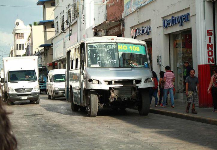 Según los empresarios el aumento a la tarifa representa un apoyo para los transportistas ante el costo de los combustibles. (Archivo/ Milenio Novedades)