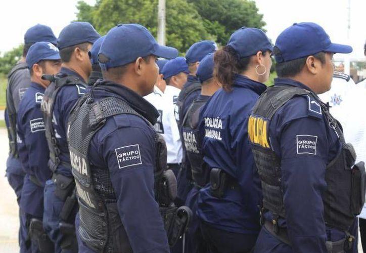 Se invirtió en evaluaciones de control de confianza, infraestructura para las comandancias de seguridad pública municipal, entre otros. (Redacción/SIPSE)