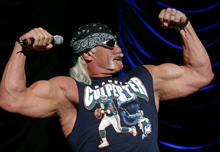 En la imagen, el luchador Hulk Hogan, cuyo verdadero nombre es Terry Gene Bollea. (EFE/Archivo)
