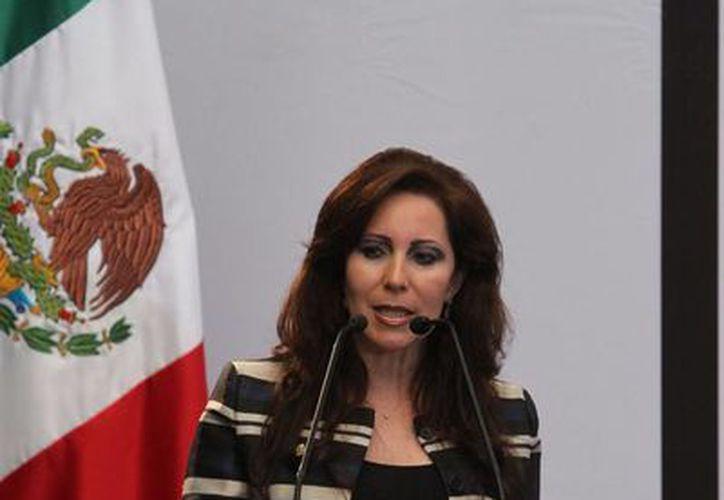 La alcaldesa Bárbara Botello aseguró que no bajarán la guardia ante la delincuencia. (Archivo/Notimex)