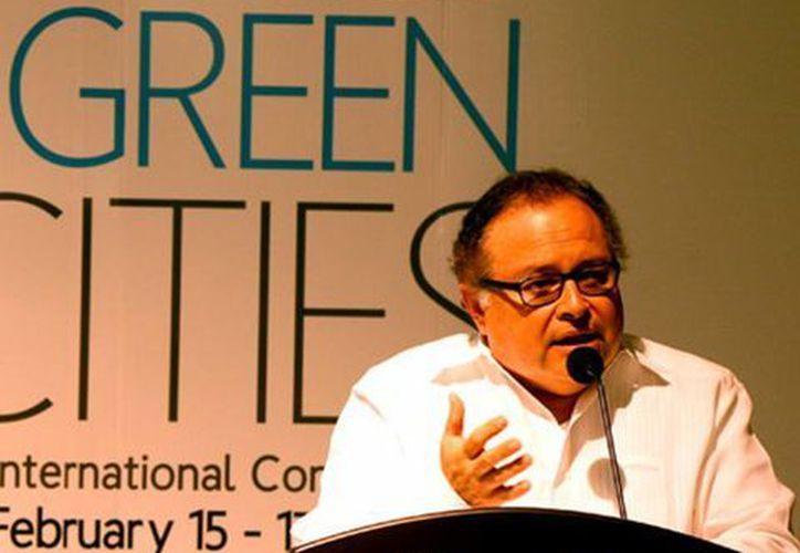 Ernesto Herrera Novelo, secretario de Fomento Económico. (Milenio Novedades)
