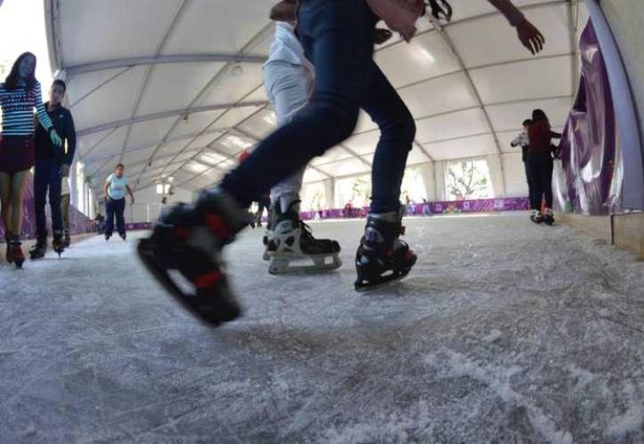 La pista de hielo será de entrada libre. (Foto: contexto Internet)