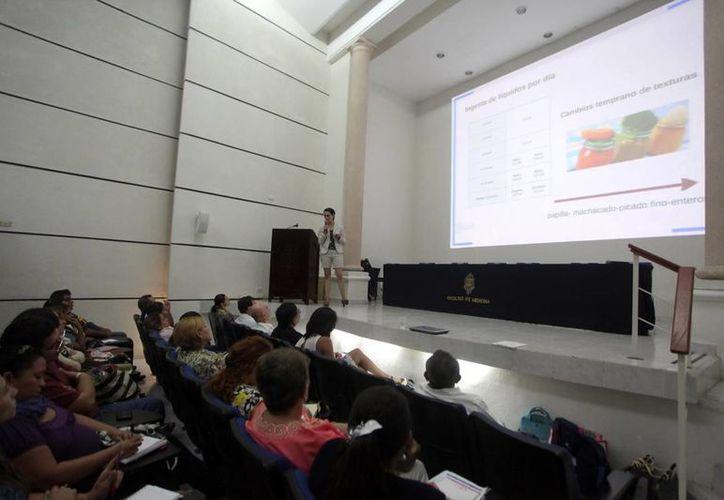 Al taller 'Síndrome de Down y otras discapacidades intelectuales' asistieron unas 150 personas. (Amílcar Rodríguez/Milenio Novedades)