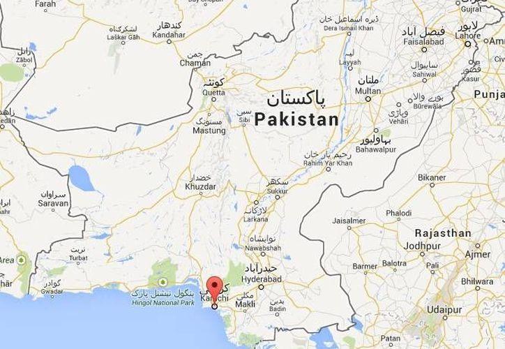 Los dos secuestrados en Karachi son los pakistaníes Sami Nawaz y Farrukh Saleem. (Google Maps)