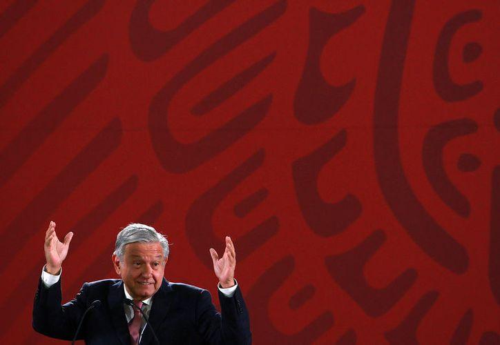 López Obrador indicó que ya no es el tiempo en que se tutelaba a través de los medios de información. (Foto: Notimex/Francisco Estrada)