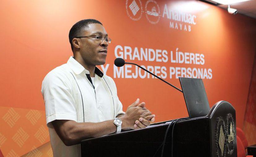 Kevin D. Johnson, presidente de Johnson Media Inc. (Universidad Anáhuac)