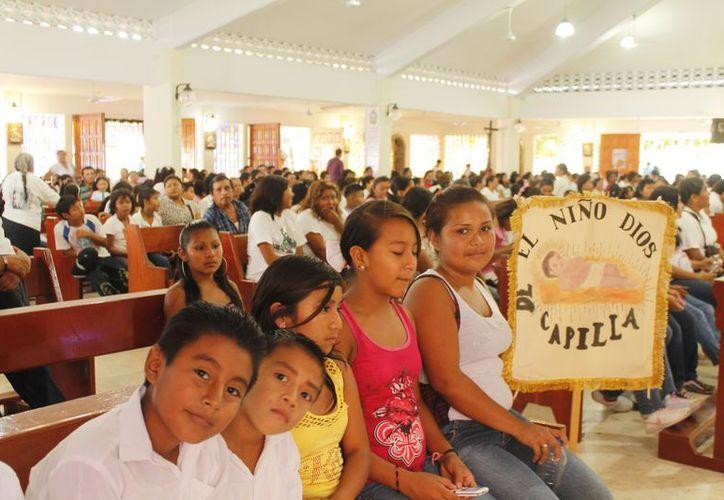 Las procesiones se darán principalmente entre el 9 y 12 de diciembre. (Jesús Tijerina/SIPSE)