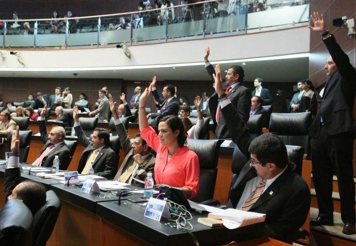La reforma fue aprobada con 104 votos a favor. (Notimex)