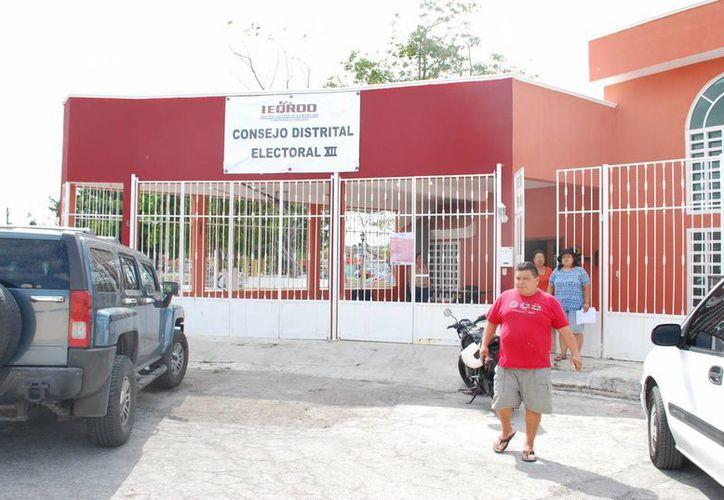 El Distrito XII no cuenta con una lista de reserva de ciudadanos para suplir la renuncia. (Tomás Álvarez/SIPSE)