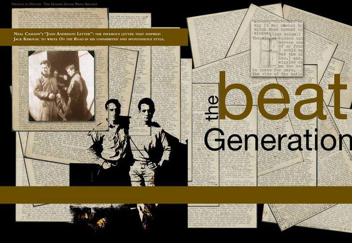 La carta literaria que escribió Neal Cassady a su amigo Jack Kerouac inspiró el género beat. (AP)