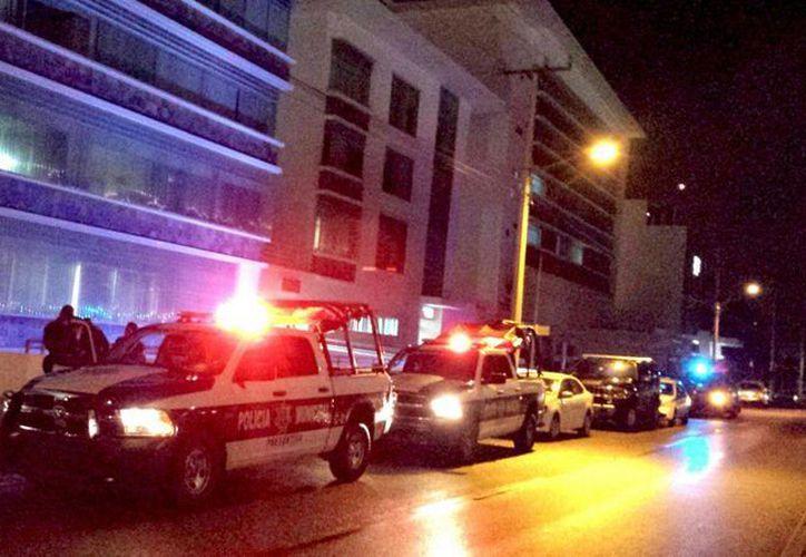 El lesionado está internado en el Hospital Galenia. (Jesús Tijerina/SIPSE)