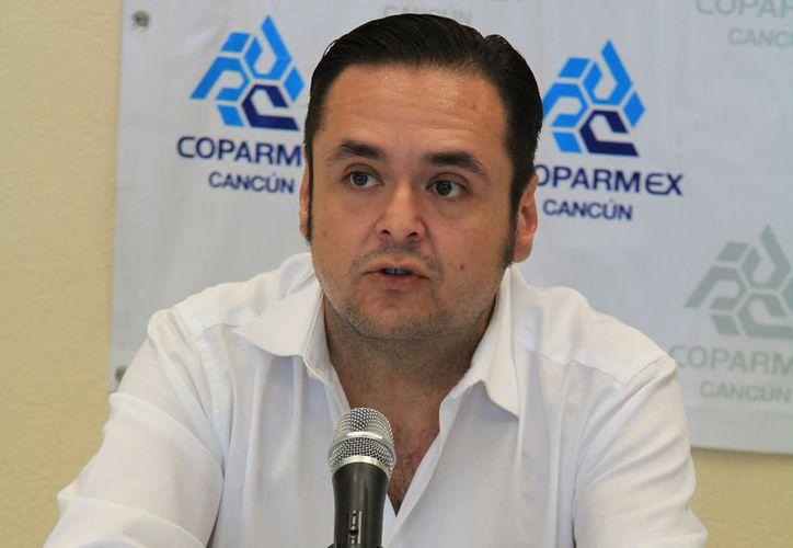 Adrián López Reyes es el nuevo presidente de la Coparmex. (Luis Soto/SIPSE)