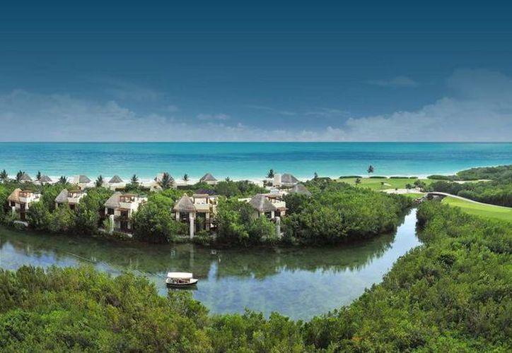 Más de la mitad de los cuatro hoteles Mayakoba, en la Riviera Maya, fue vendida. (El confidencial)