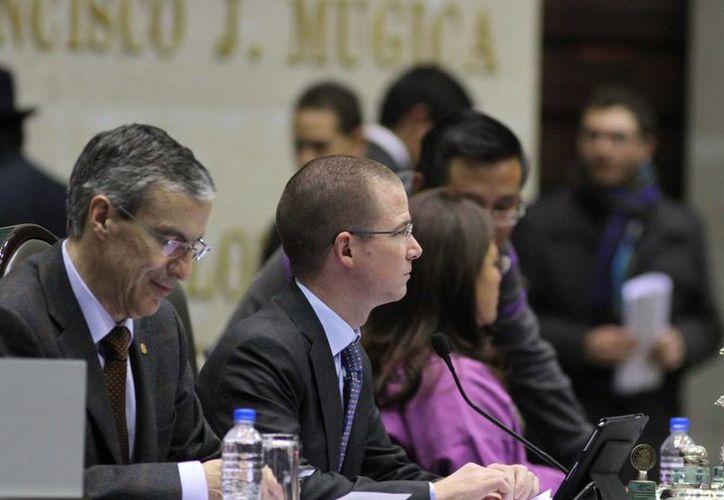 Anaya dijo que en los próximos días se discutirá la reforma energética. (Archivo/Notimex)