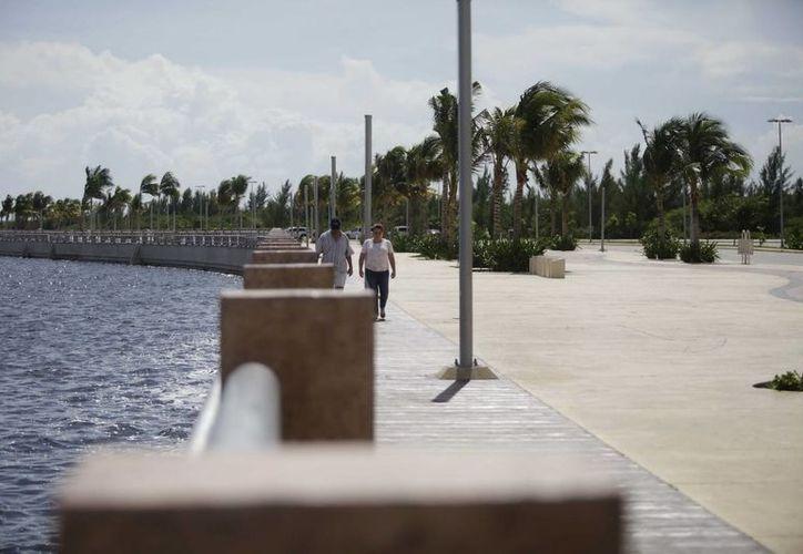 El Malecón Tajamar consta de una superficie de 78 hectáreas; conjuga un gran porcentaje de áreas verdes y el carácter mixto para oficinas, vivienda y comercio. (Cortesía/SIPSE)