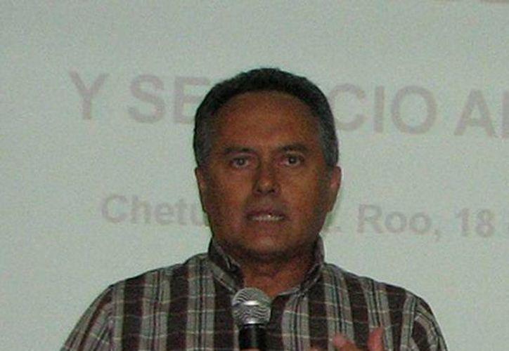 Presidente del Consejo Directivo del Iapqroo, Joel Saury Galué. (Redacción/SIPSE)