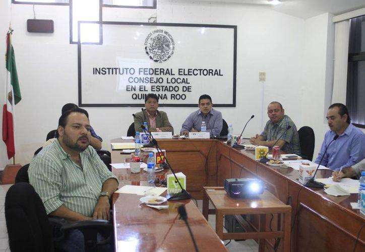 El consejo local del IFE en Quintana Roo. (Archivo/SIPSE)
