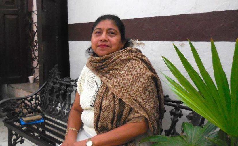Teresa Pool es una de las panelistas de 'La literatura maya en el siglo XXI, perspectivas y problemáticas', evento literario que llegará a estudiantes de diferentes instituciones de Mérida, Peto y Maxcanú. (Foto cortesía del Gobierno)