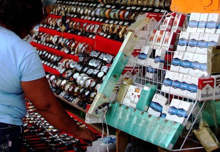 Yucatán es la principal ruta del contrabando de cigarros. (Milenio Novedades)