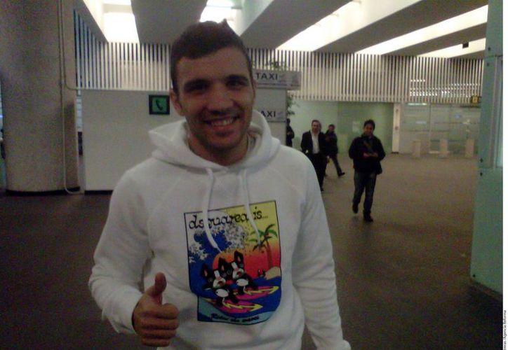 Bertolo llega del  Palermo, pero también ha jugado para Boca Juniors, Nacional, Banfield y Real Zaragoza. (REFORMA)