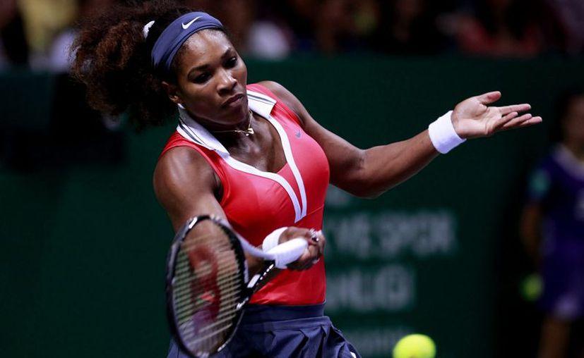 Williams participa en el Gillete Federer Tour en Sao Paulo Brasil. (Foto: EFE)