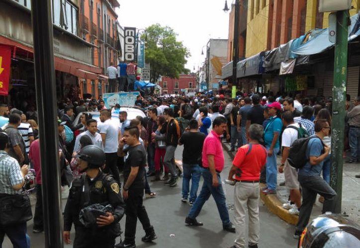 Tres personas resultaron lesionadas por arma de fuego. (Televisa News)