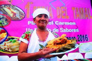 Arranca la Feria del Tamal en Playa del Carmen