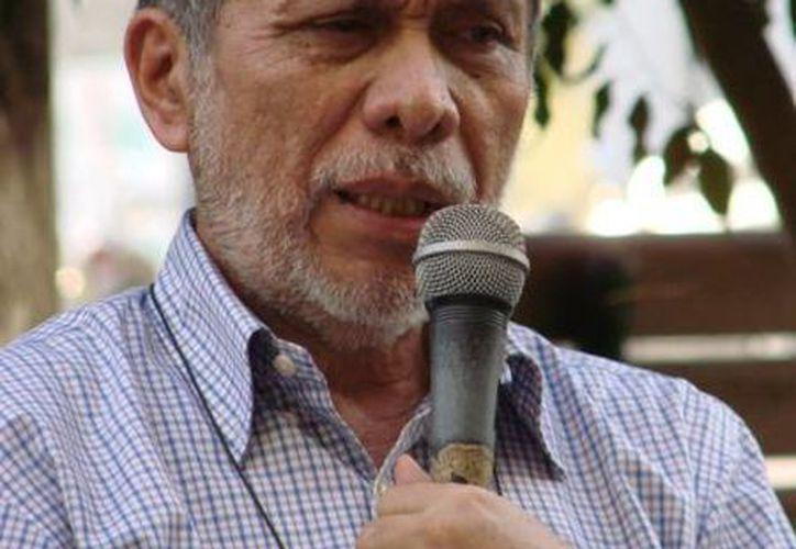 Ramón Iván Suárez Caamal, autor del Himno de Quintana Roo. (Manuel Salazar/SIPSE)