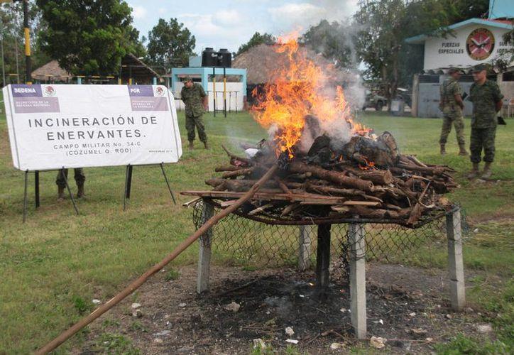 El evento se realizó en la Guarnición Militar. (Julián Miranda/SIPSE)