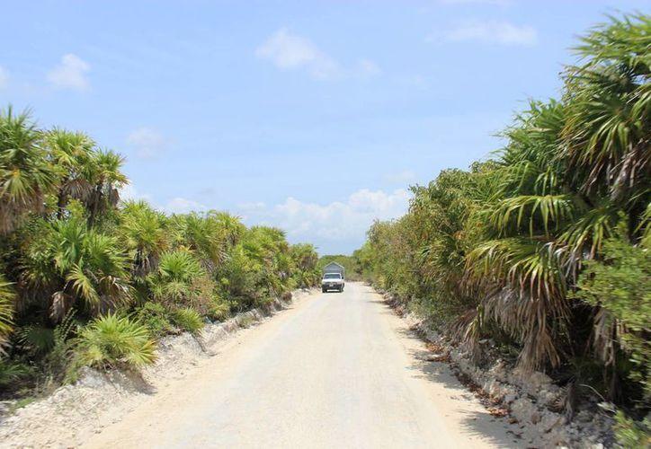 Este camino se había convertido en el principal reclamo de los pobladores desde septiembre del año pasado. (Sara Cauich/SIPSE)