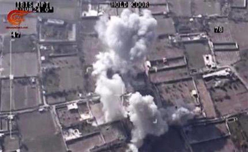 El ejército sirio colocó trampas explosivas en un grupo de edificios agrícolas en la provincia de Dara y las detonaron mientras varias facciones rebeldes islámicas se reunían allí, lo que dejó 17 extremistas muertos. (AP)