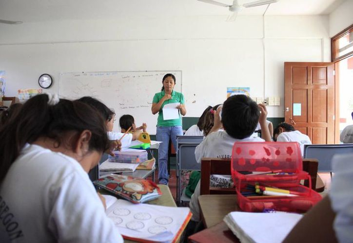 El censo escolar de Quintana Roo tuvo una cobertura del 99.5 por ciento. (Harold Alcocer/SIPSE)