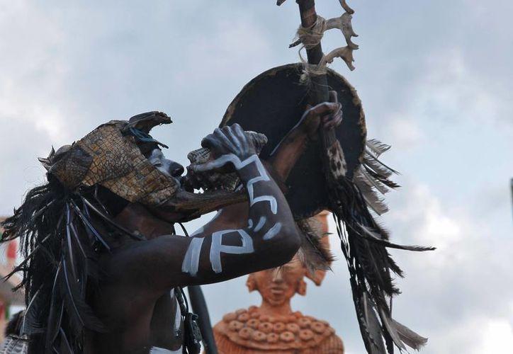 San Gervasio era el principal asentamiento maya. (Gustavo Villegas/SIPSE)
