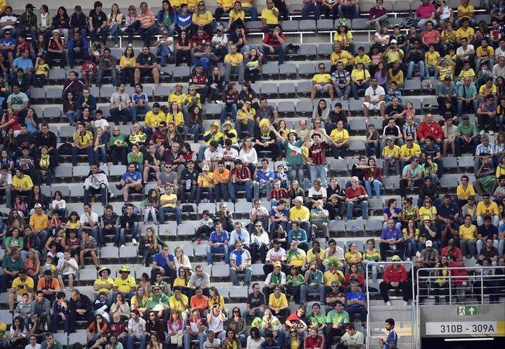 El narcotraficante mexicano que pretendía ver un partido de México en el Mundial era buscado por tráfico de metanfetaminas. En la foto, la Arena da Baixada en Curitiba, Brazil. (Foto de contexto: AP)