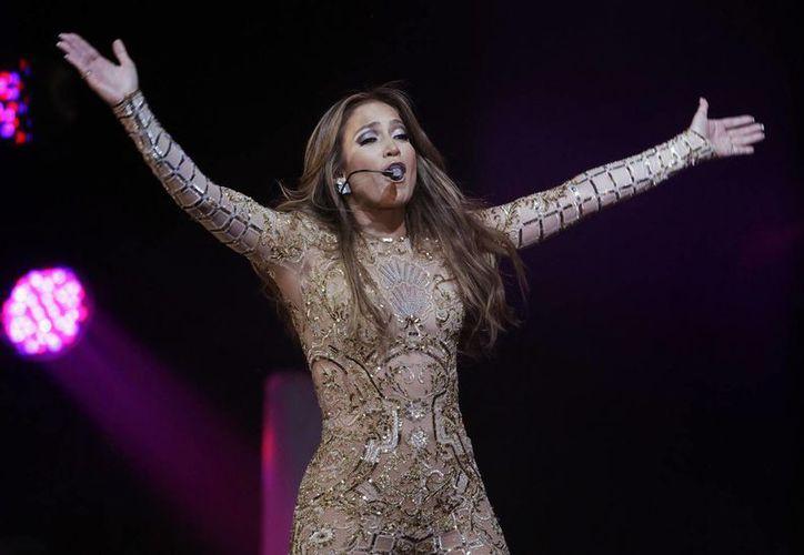 La cantante actuó el sábado por la noche en la exrepública del bloque soviético. (Agencias)