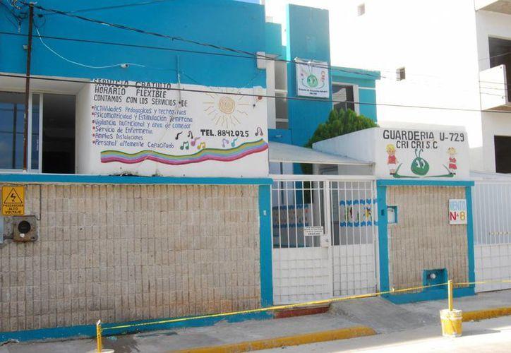 La responsable de la guardería indicó que el IMSS es el único autorizado para dar respuesta ante las acusaciones. (Tomás Álvarez/SIPSE)