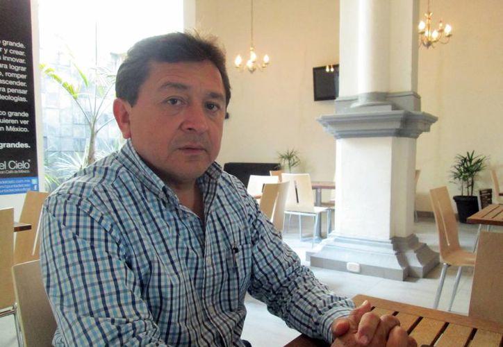 Felipe Duarte dijo que los profesores locales no coinciden con la CNTE. (Milenio Novedades)