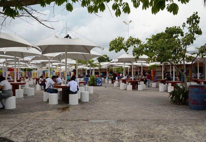 El Parque de Las Palapas está ubicado en la Supermanzana 22 de Cancún. (Victoria González/SIPSE)