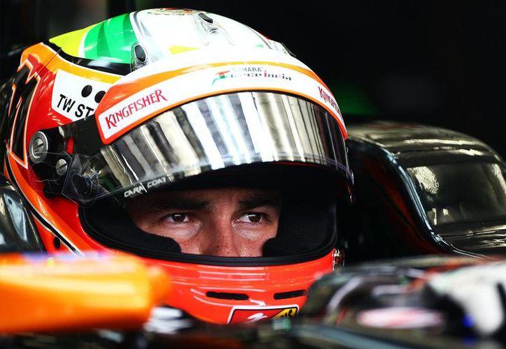 El mexicano Sergio Pérez, Checo, hará equipo con Nico Hulkenberg para la próxima temporada en Force India (deportspeed.com.mx/Foto de archivo)