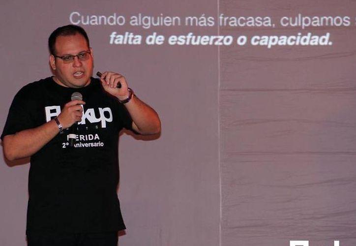 El yucateco Israel Cauich Viñas llevará su proyecto de emprendimiento a dos eventos nacionales: ave Axtel Future y Campus Party México. (Milenio Novedades)