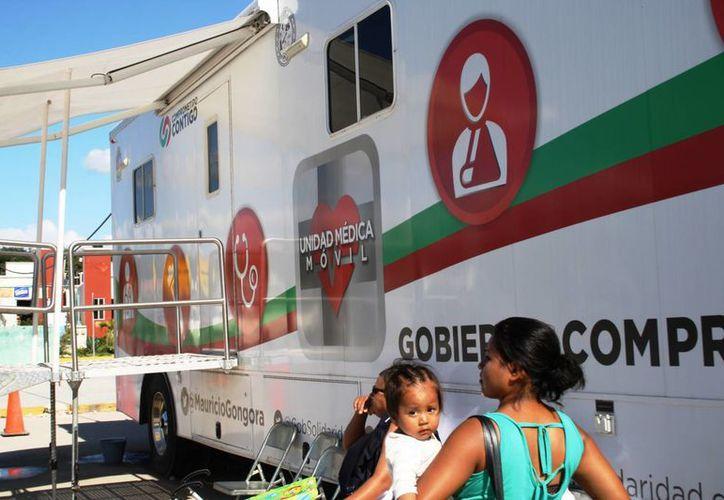Son siete las unidades de salud que se encuentran diseminados por todo el municipio. (Octavio Martínez/SIPSE)