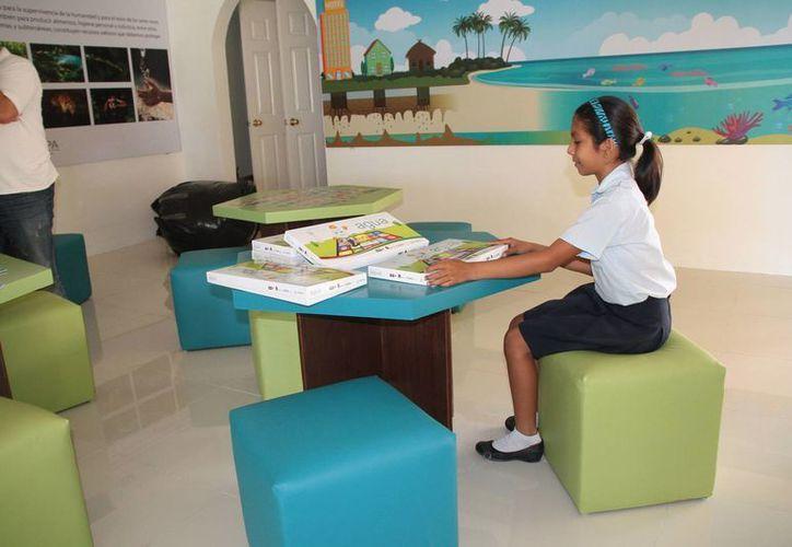 Alumnos de nivel básico serán capacitados sobre el cuidado del agua. (Julián Miranda/SIPSE)